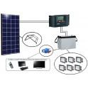 Kits solaires Afrique - EK140 Ecole de brousse EvoluKit Indépendance 1 classe