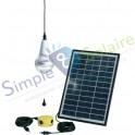 Eclairage solaire autonome - Kit éclairage solaire Ulitium Blanc
