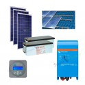 Kits solaires autonomes - Evolukit EK750 Starter kit 24V 230V