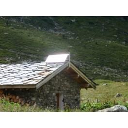 Autonomie cabanon solaire - Evolukit 250: le kit solaire évolutif pour vos petites dépendances