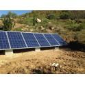 Kits solaires autonomes -  EK1500 - Evolution 1 : production d'électricité