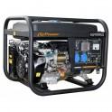 Onduleurs - Chargeurs Solaires - Groupe électrogène 7 kW Essence ouvert GG9000LE