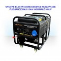 Onduleurs - Chargeurs Solaires - Groupe électrogène GG12000LE 10kW moteur Essence