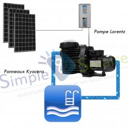 Kits piscines solaires - Kit de filtration solaire - piscines 65 à 85m3
