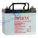 Batterie AGM sans entretien - AGM BTL 12-33 Batterie solaire Effekta