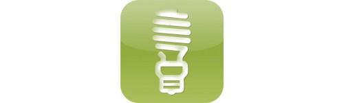 Eclairage fluocompact 12-24V