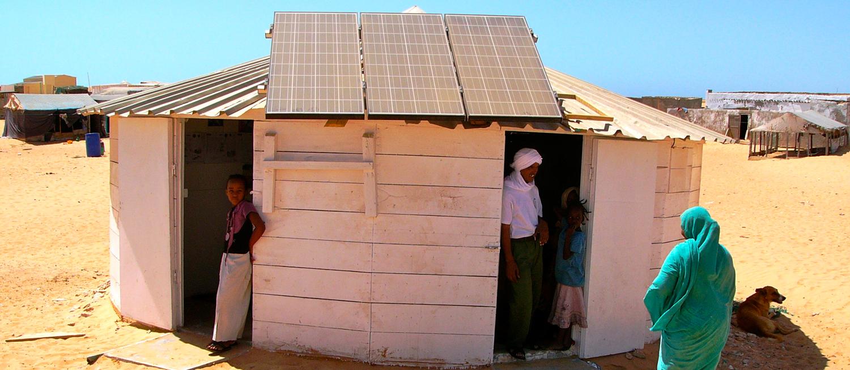 Tikkit autonome électriquement en Mauritanie