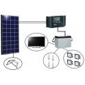 Kits solaires Afrique - EK140 TV EvoluKit Indépendance
