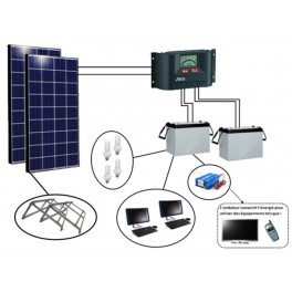 Kits solaires Afrique - EK280 Bureautique EvoluKit Indépendance