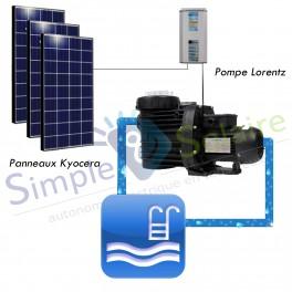 Kit de pompage d'eau - Pompage solaire - 50m - 17m3