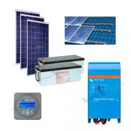 Kits solaires autonomes - Evolukit EK1500 Starter kit 48V 230V