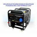 Groupes électrogènes - Groupe électrogène GG12000LE 10kW moteur Essence
