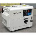 Groupes électrogènes - Groupe électrogène 6.5 kW diesel insono DG7500SE