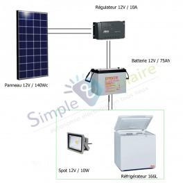 Dispensaire - Kit solaire Dispensaire Médical