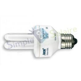 Eclairage fluocompact 12-24V - Ampoules fluocompactes E27 pour maison solaire